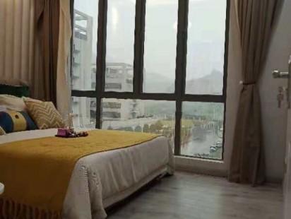 松岗大型花园小区《通城花园》桃花园创新公寓大红本房