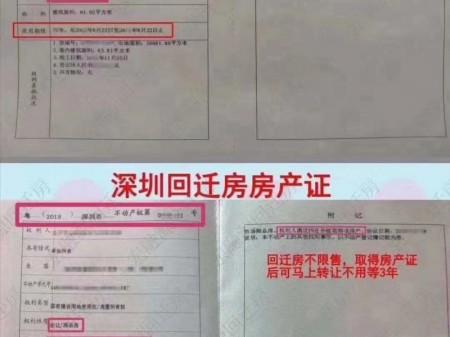 想扎根深圳 就得学会先上车 不管你是北京的还是上海,江浙的都可以来买白石洲回迁房!无风险!